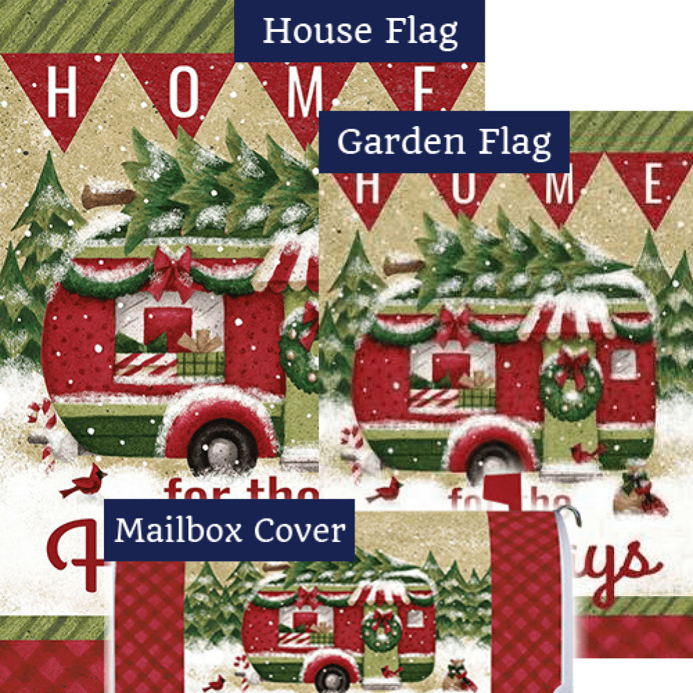 Holiday Camper Double Sided Yard Makeover Set (3 Pieces)