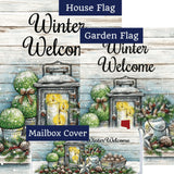 Warm Winter Welcome Double Sided Yard Makeover Set (3 Pieces)