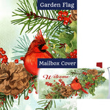 Cardinals & Pines Flag Mailwrap Set (2 Pieces)