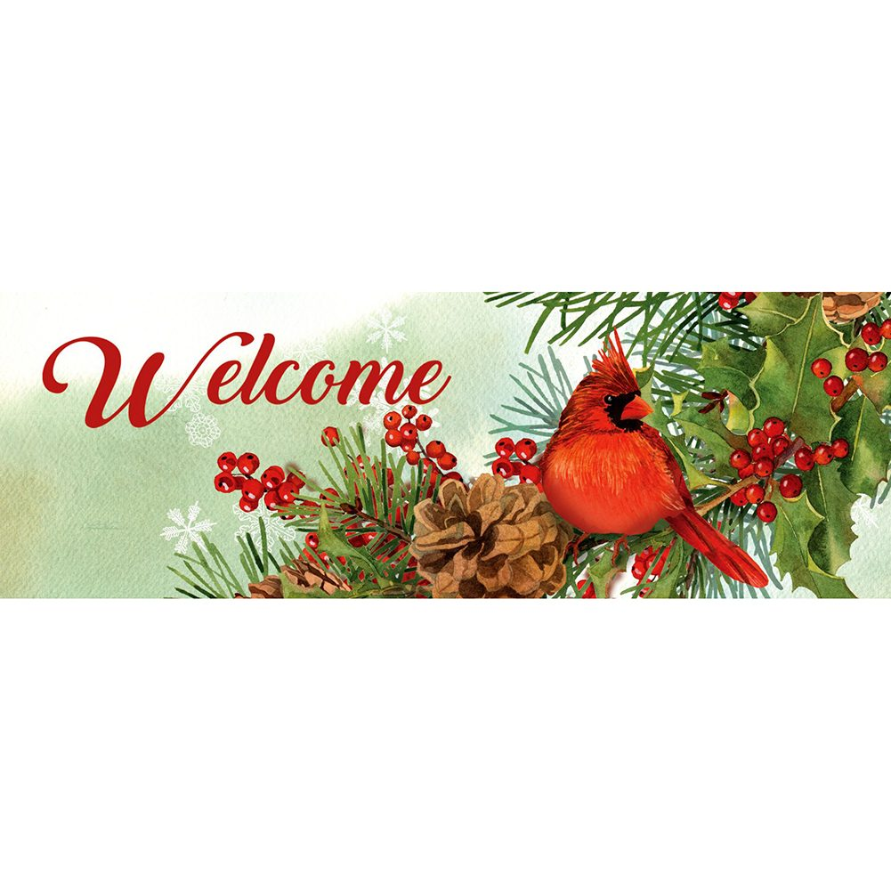 Cardinals & Pines Signature Sign
