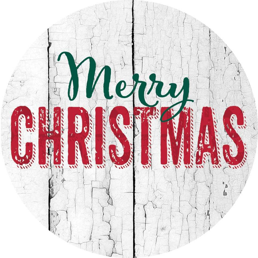Merry Christmas Farmhouse Accent Magnet