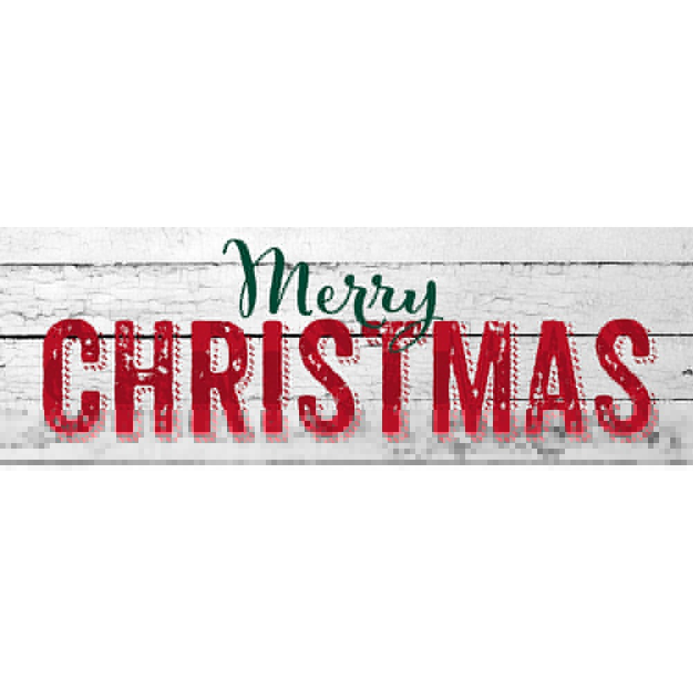 Merry Christmas Farmhouse Signature Sign