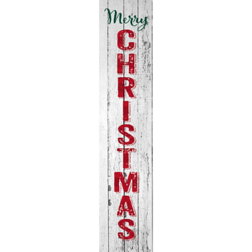 Merry Christmas Farmhouse Yard Expression