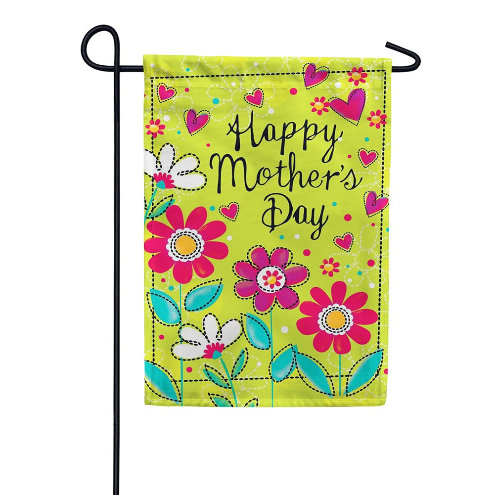 Happy Mothers Day Double Sided Garden Flag