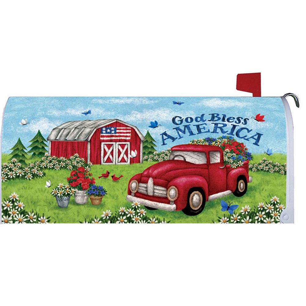 Truck and Barn Mailbox Cover