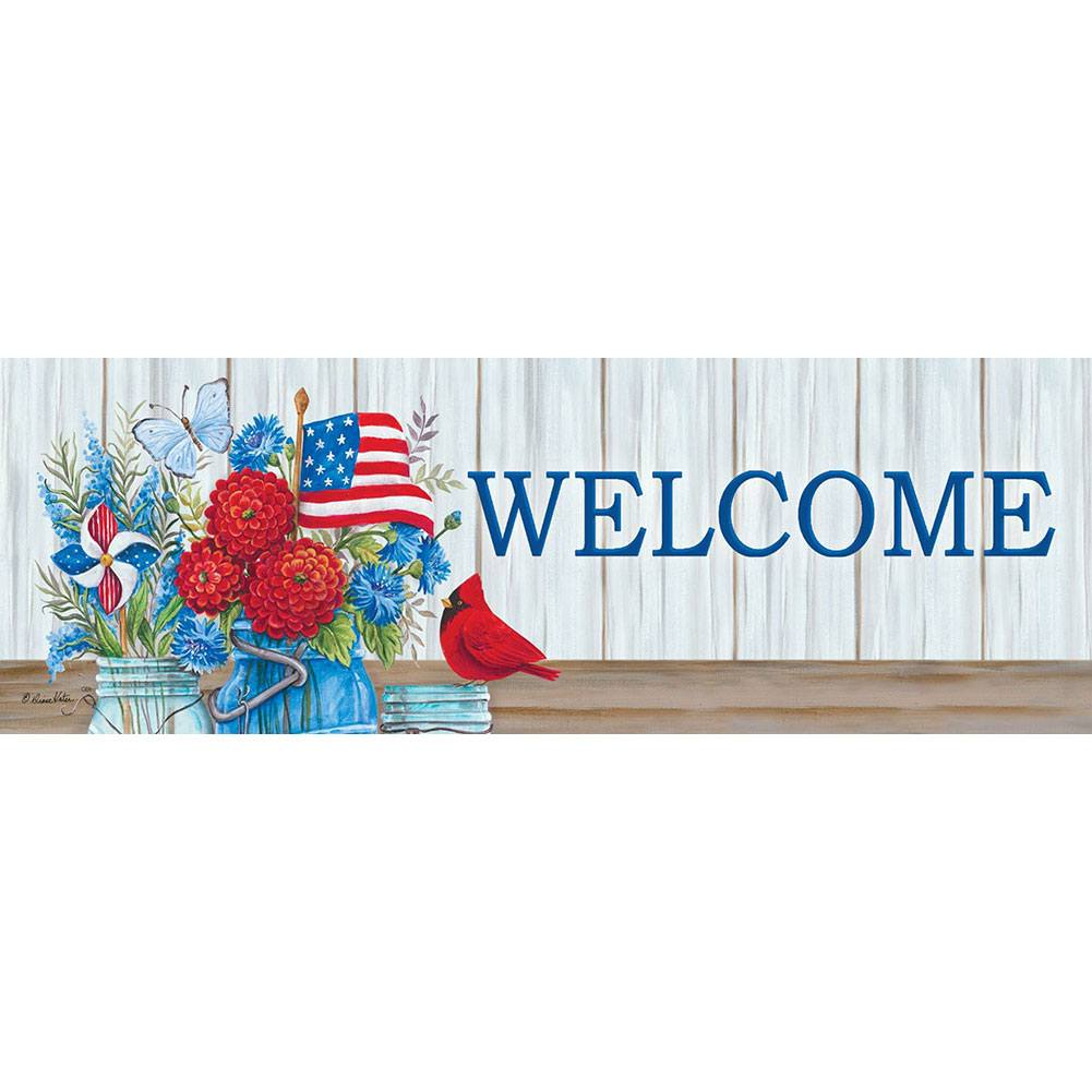 Patriotic Still Life Signature Sign