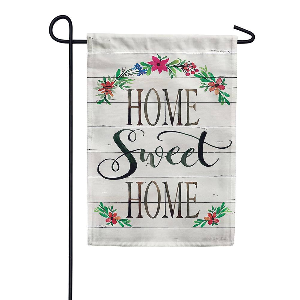 Shiplap Home Double Sided Garden Flag