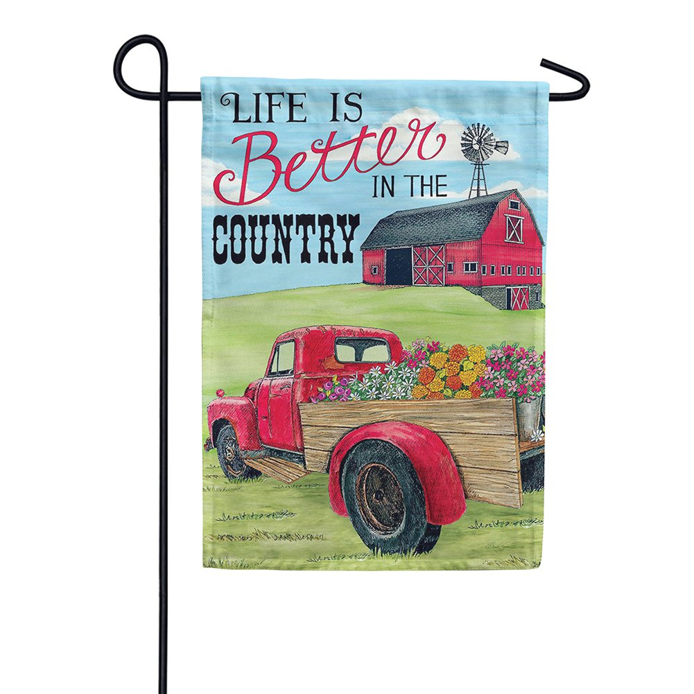 Better In The Country Double Sided Garden Flag