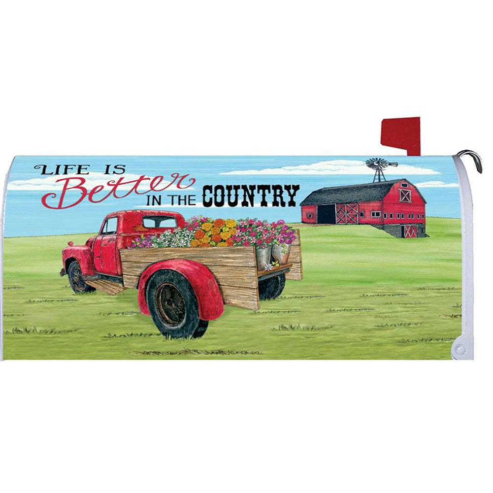 Better In The Country Mailbox Cover