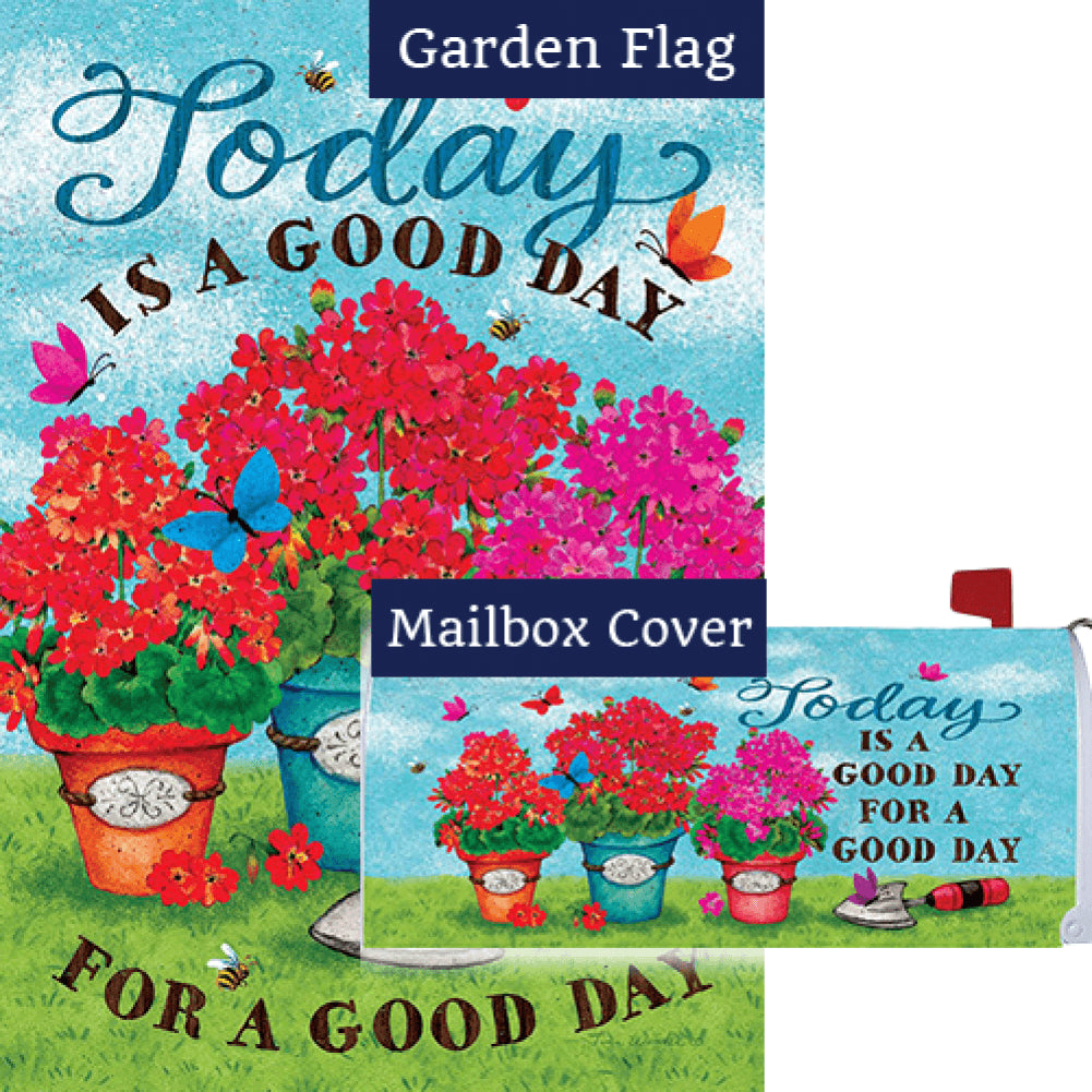 Good Day Flag Mailwrap Set (2 Pieces)