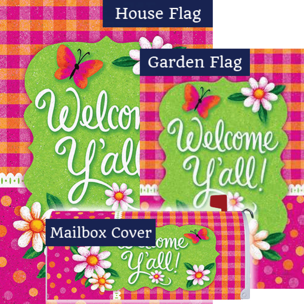 Gingham Polka Dot Yard Makeover Set (3 Pieces)