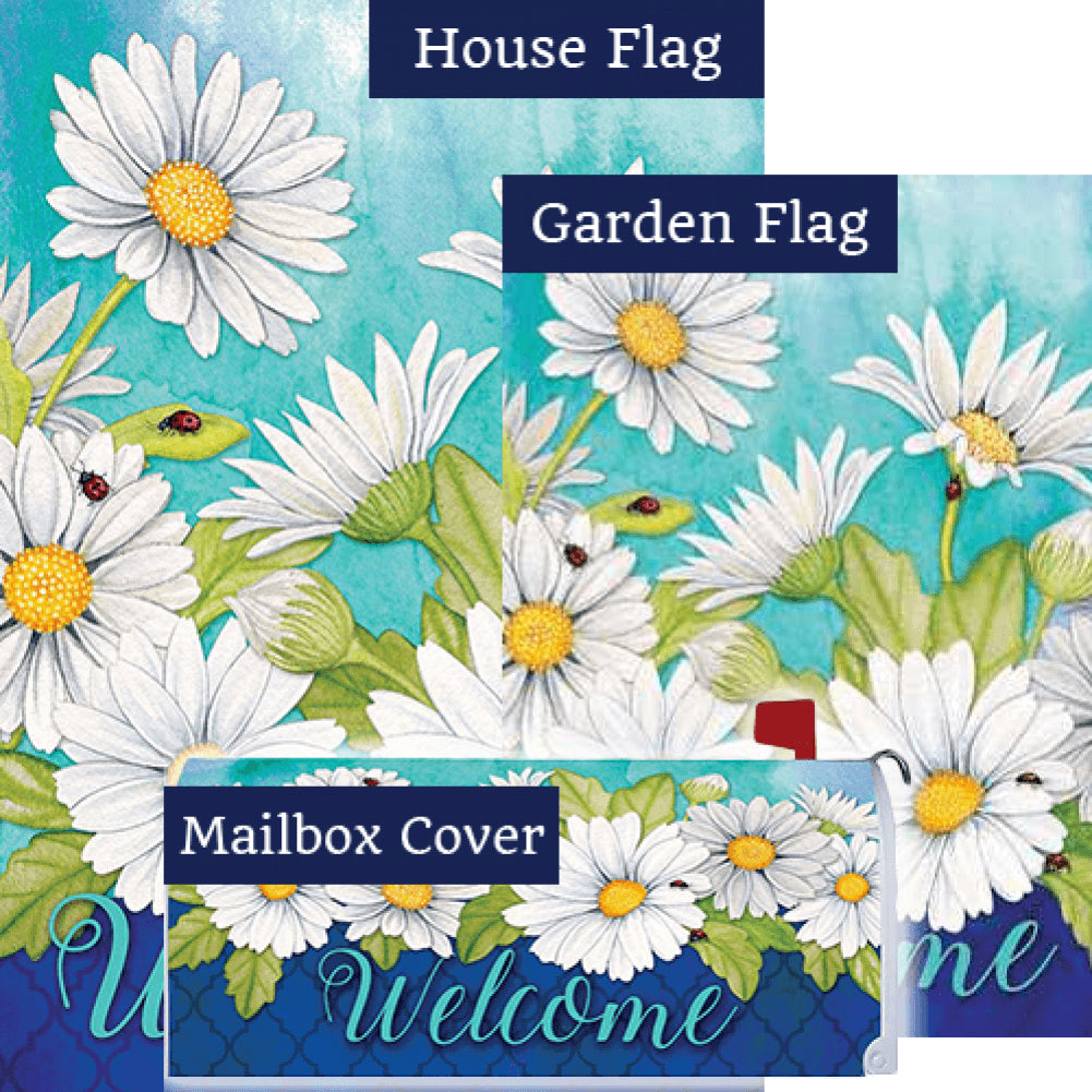 Delightful Daisies Floral Yard Makeover Set (3 Pieces)