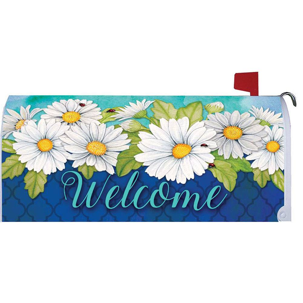 Delightful Daisies Floral Mailbox Cover