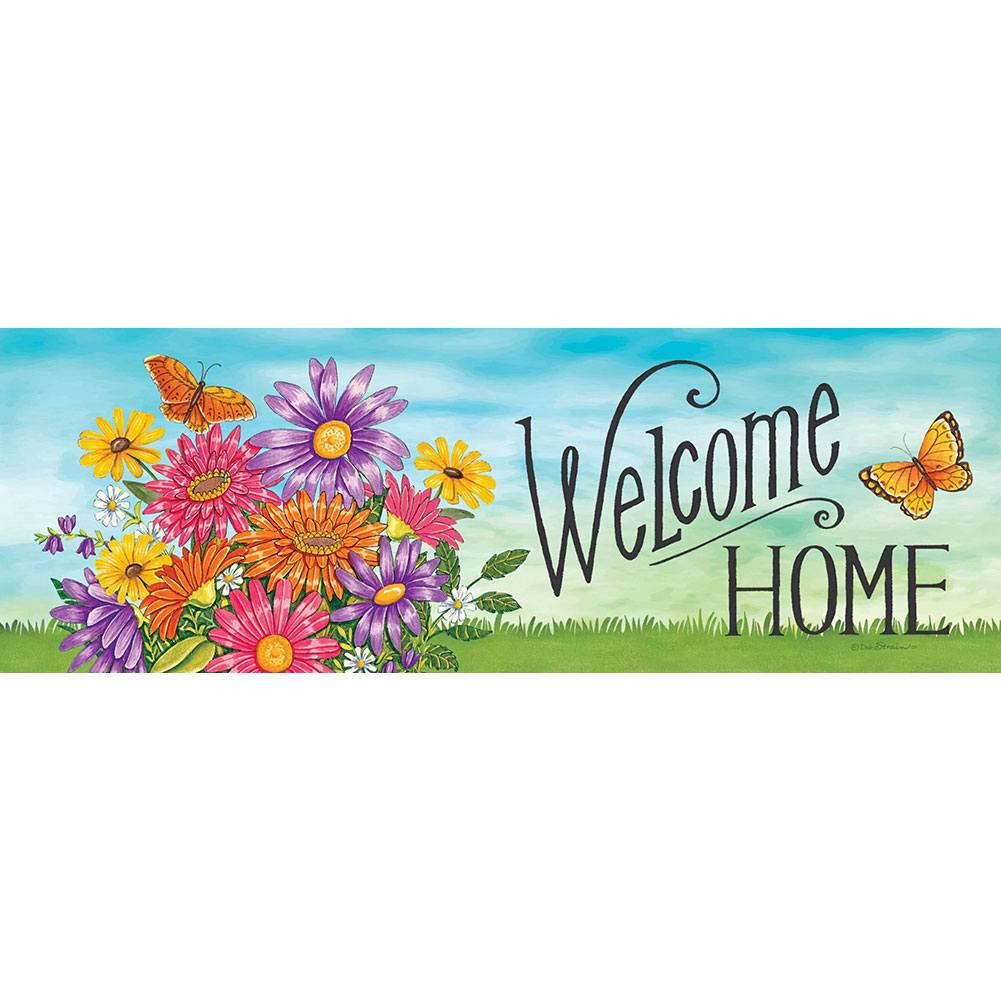Colorful Daisies Signature Sign