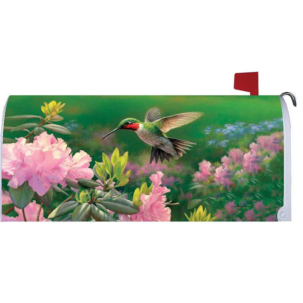 Custom Decor Hovering Hummer Mailbox Cover Flagsrus Org