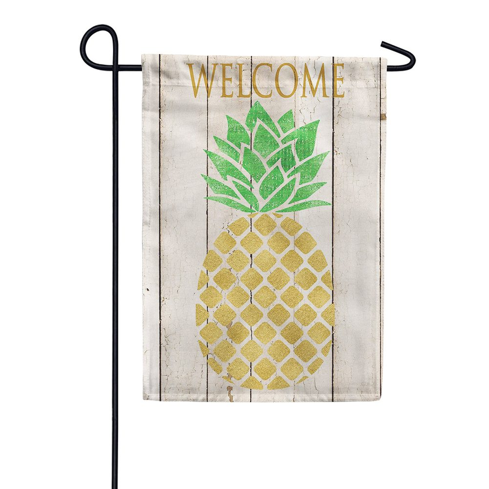 Farmhouse Pineapple Double Sided Garden Flag
