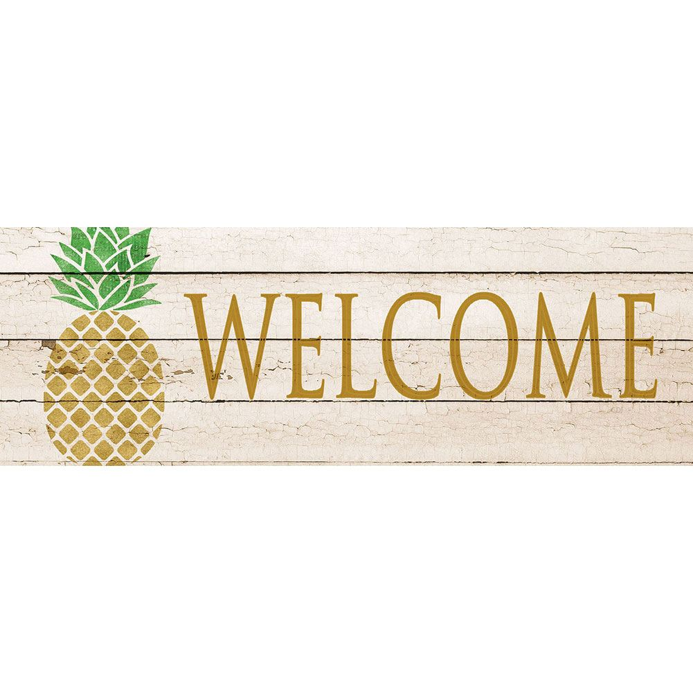 Farmhouse Pineapple Signature Sign