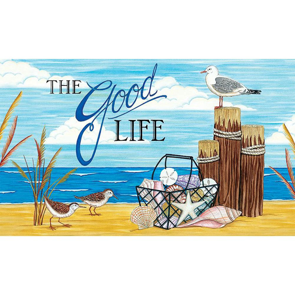 The Good Life Beach Doormat