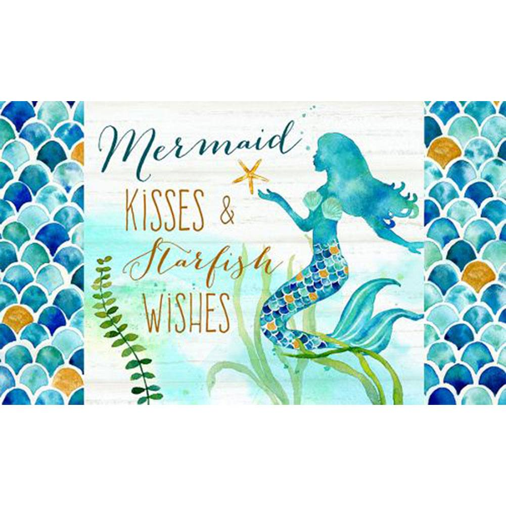 Mermaid Kisses Doormat