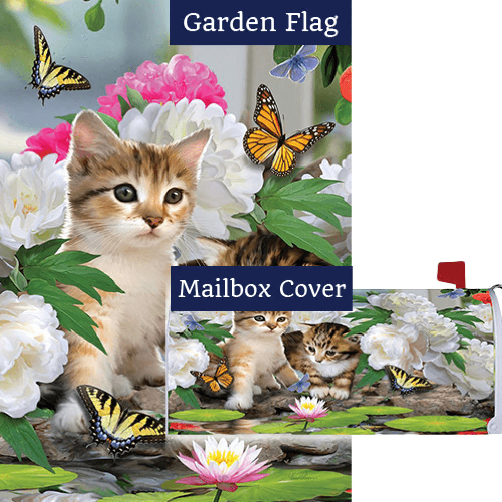 Dreamy Kittens Flag Mailwrap Set (2 Pieces)