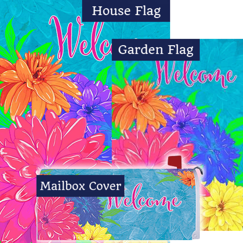 Summer Florals Yard Makeover Set (3 Pieces)