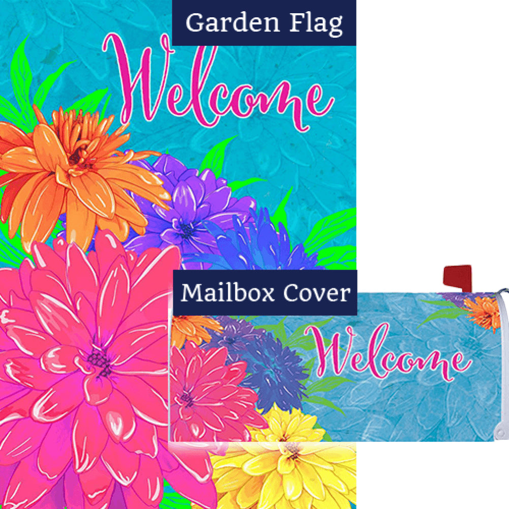 Summer Florals Flag Mailwrap Set (2 Pieces)