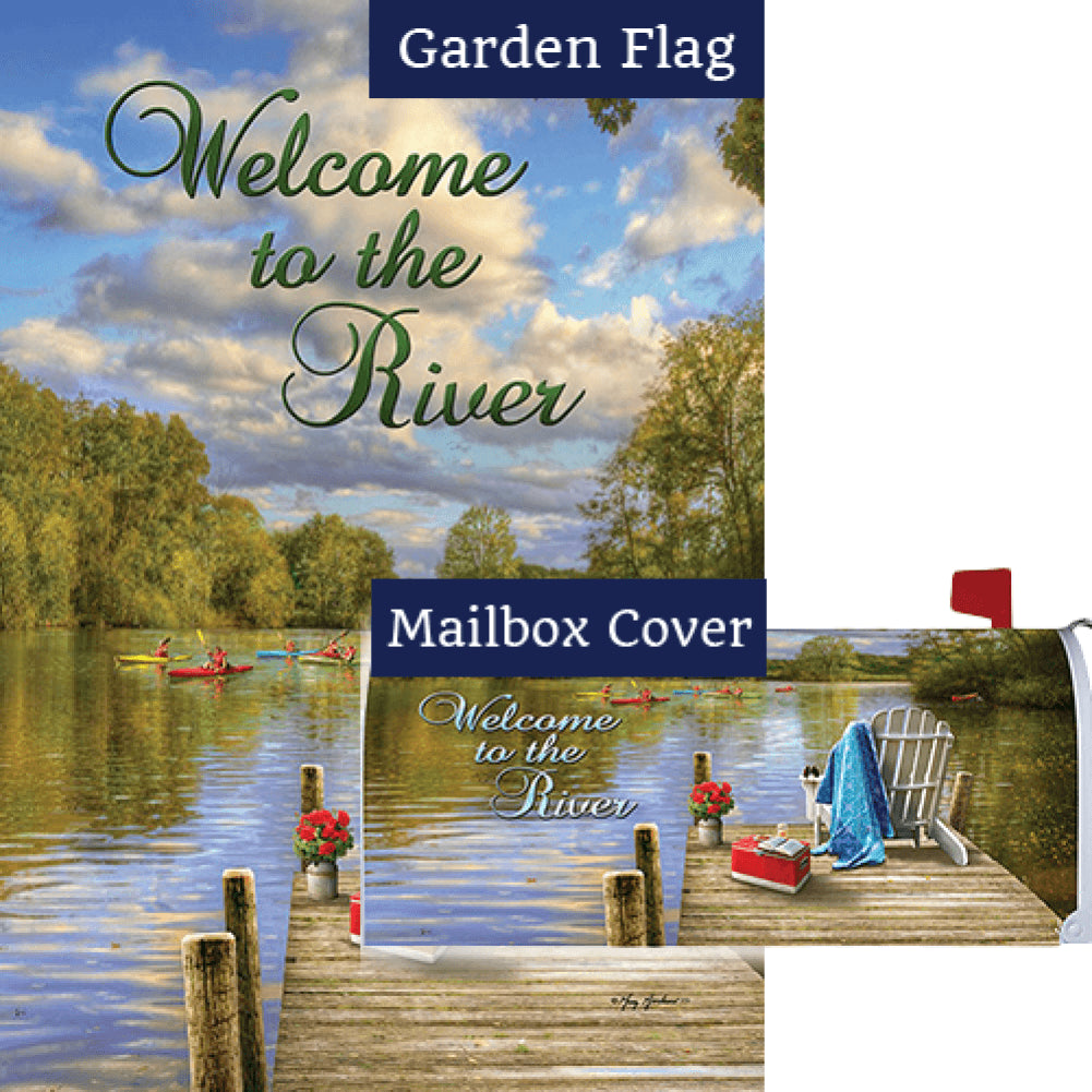 River Deck Flag Mailwrap Set (2 Pieces)