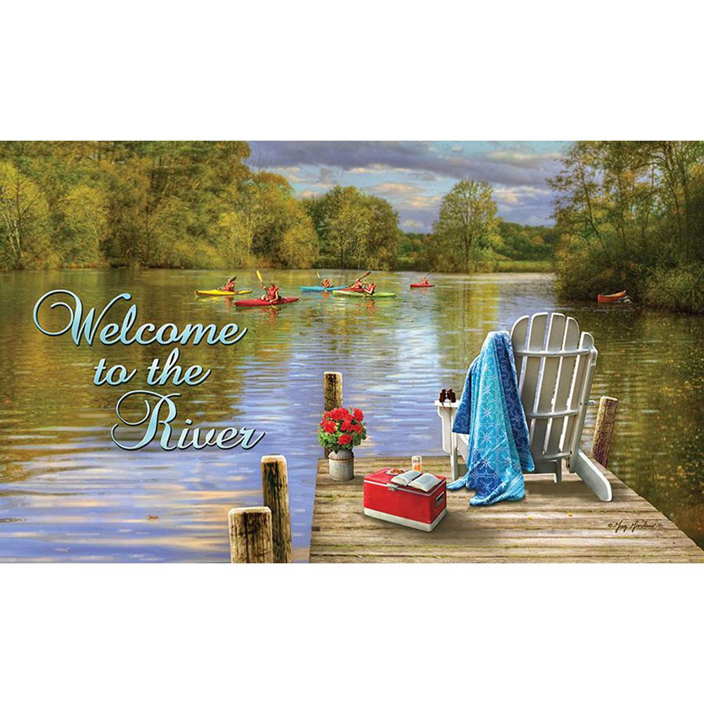 River Deck Doormat