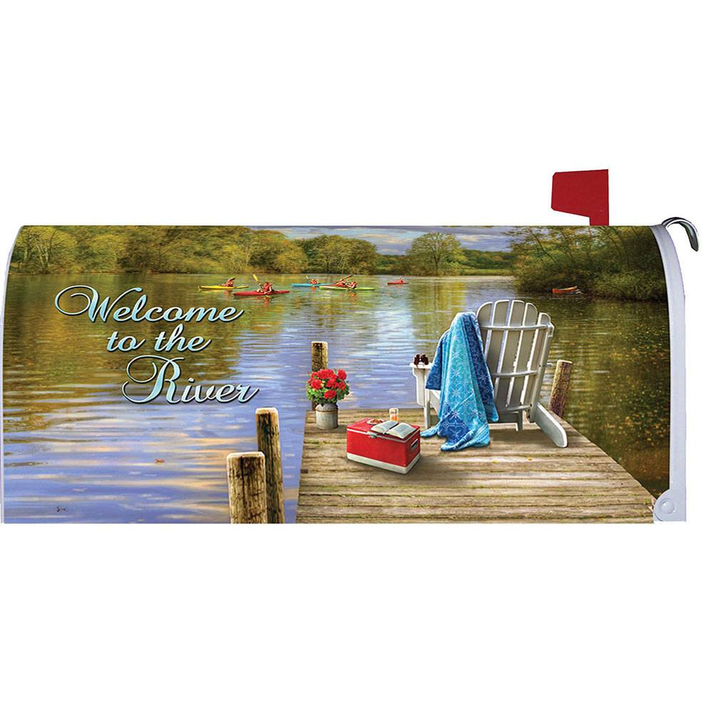 River Deck Mailbox Cover