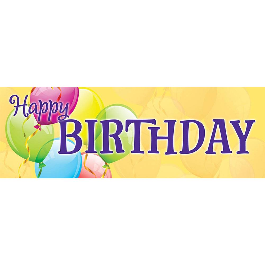 Happy Birthday Balloon Signature Sign