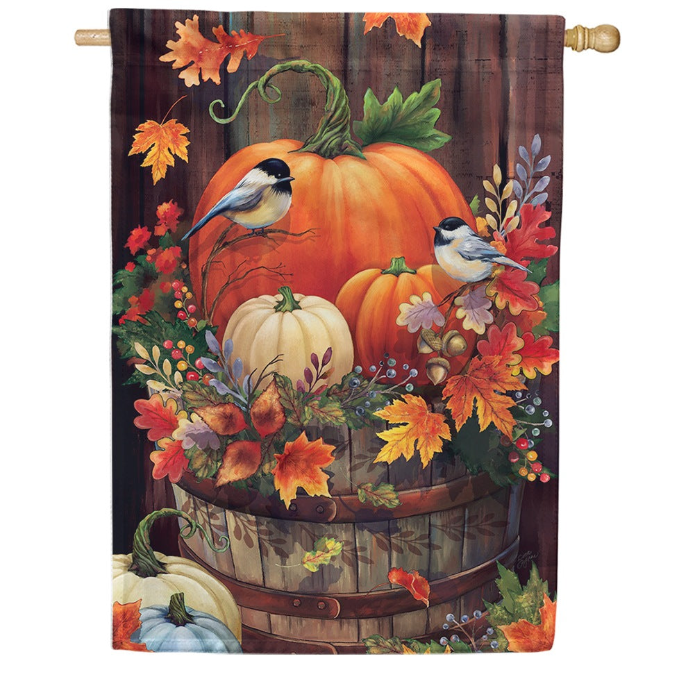 Pumpkin Barrel House Flag