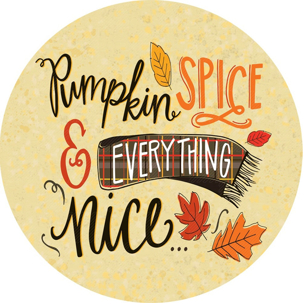 Pumpkin Spice Fall Accent Magnet