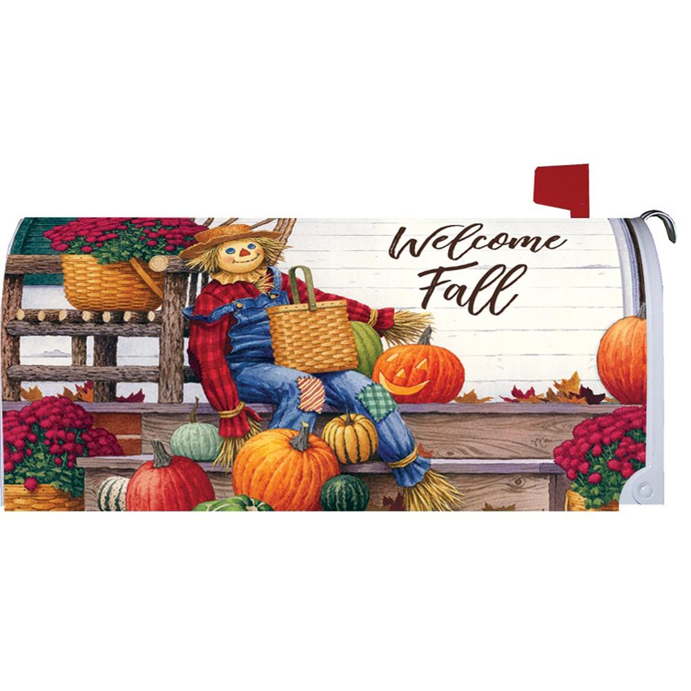 Scarecrow Porch Mailbox Cover