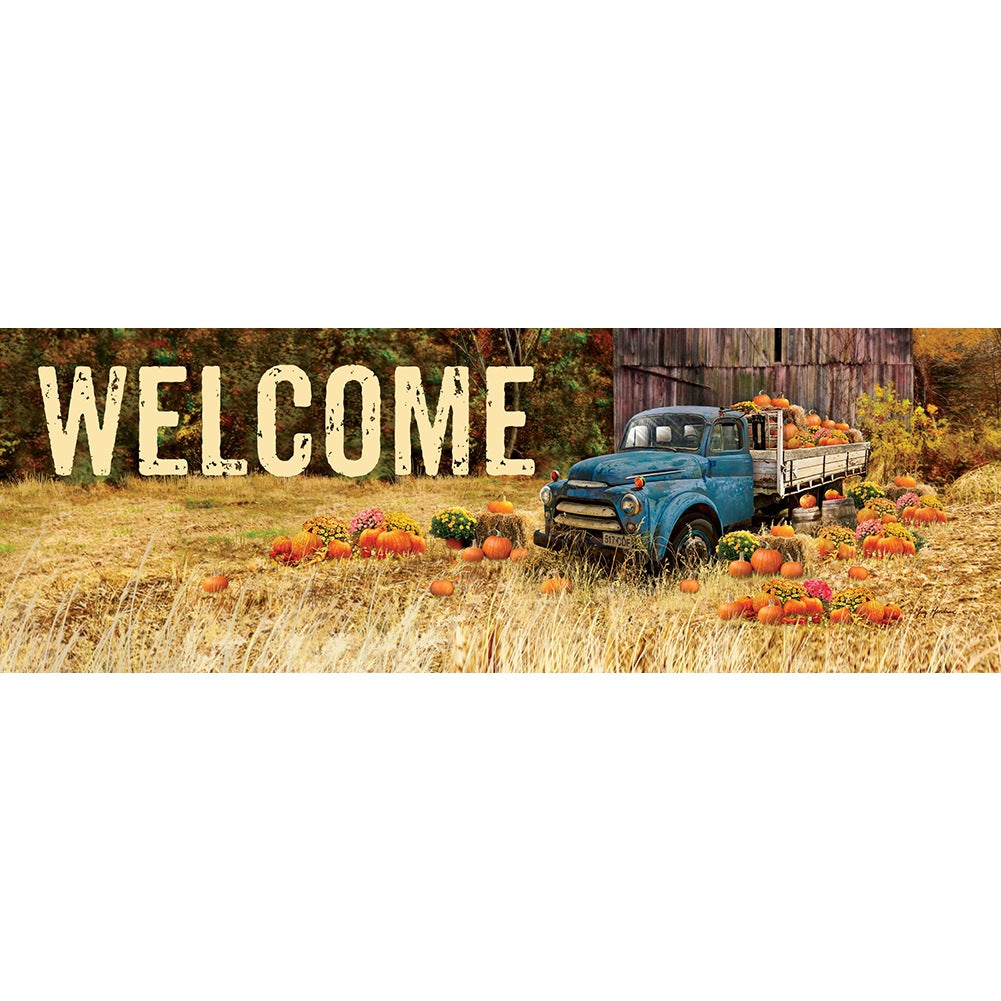 Pumpkin Truck Farm Signature Sign