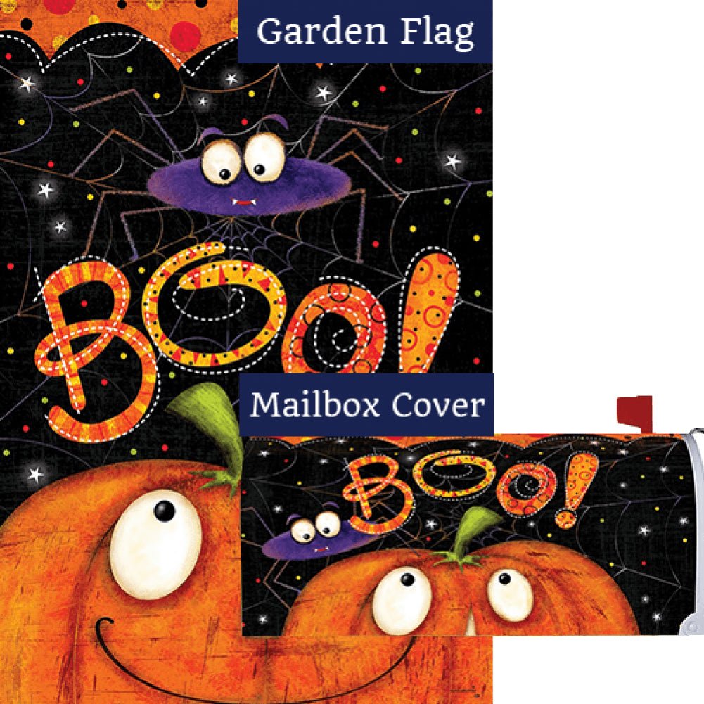 Boo Spider Flag Mailwrap Set (2 Pieces)