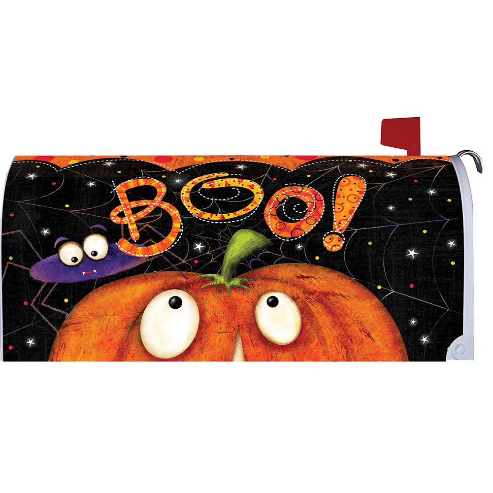 Boo Spider Mailbox Cover