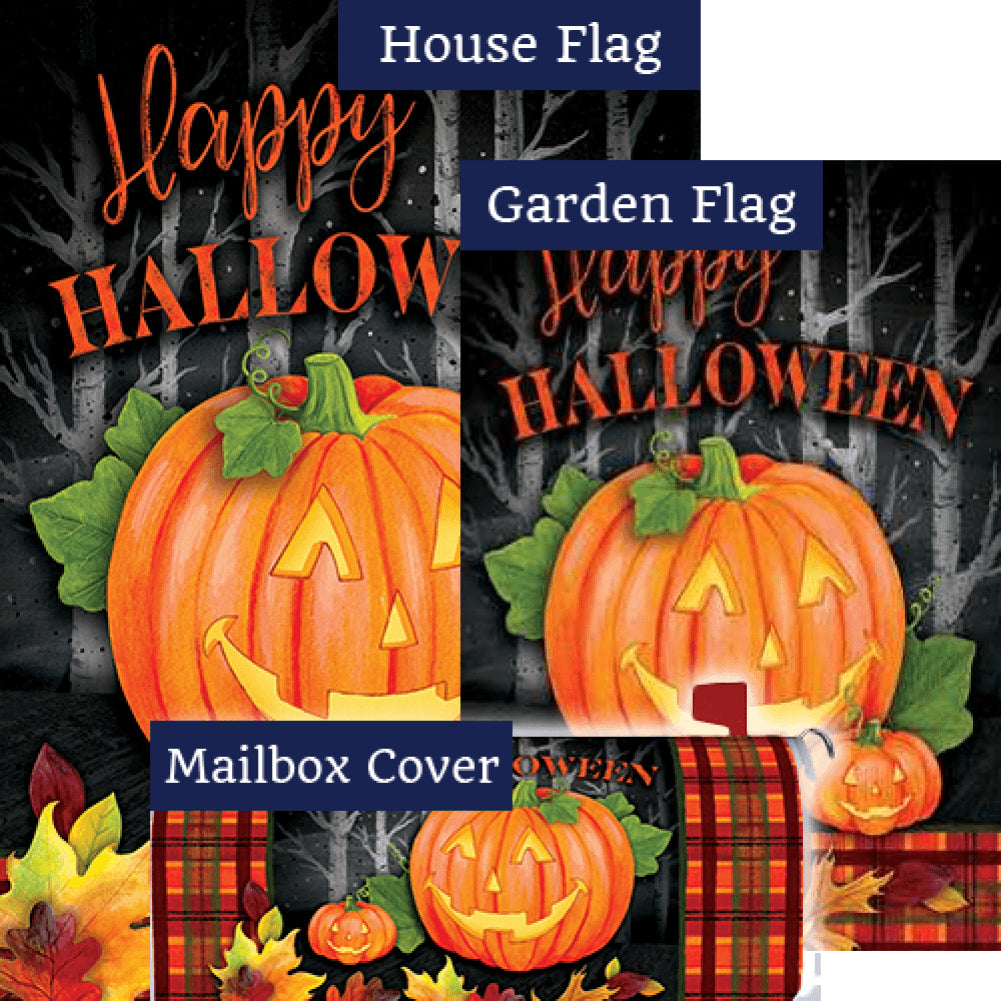 Halloween Jack Double Sided Yard Makeover Set (3 Pieces)