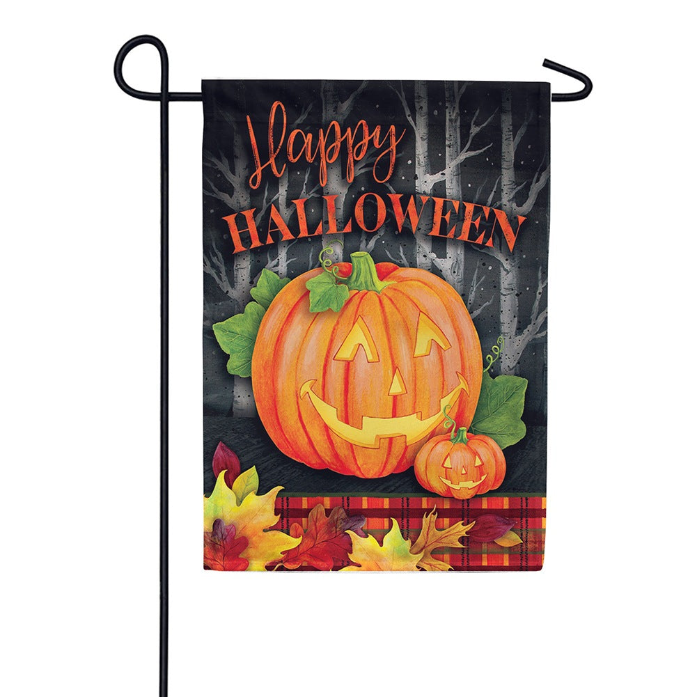 Halloween Jack Double Sided Garden Flag