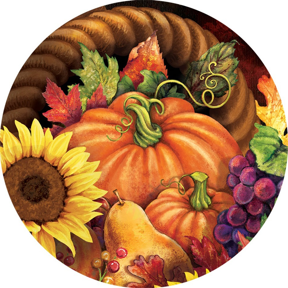 Overflowing Cornucopia Accent Magnet