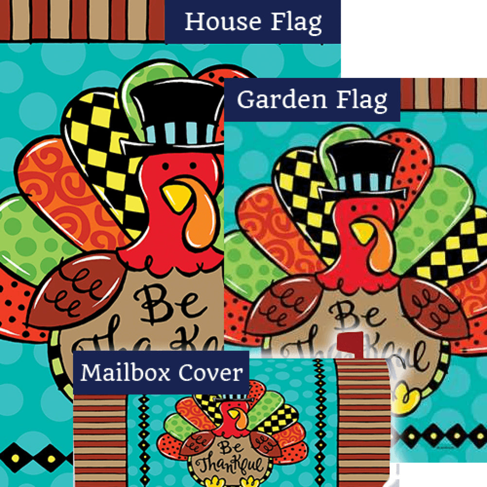 Whimsy Turkey Double Sided Yard Makeover Set (3 Pieces)