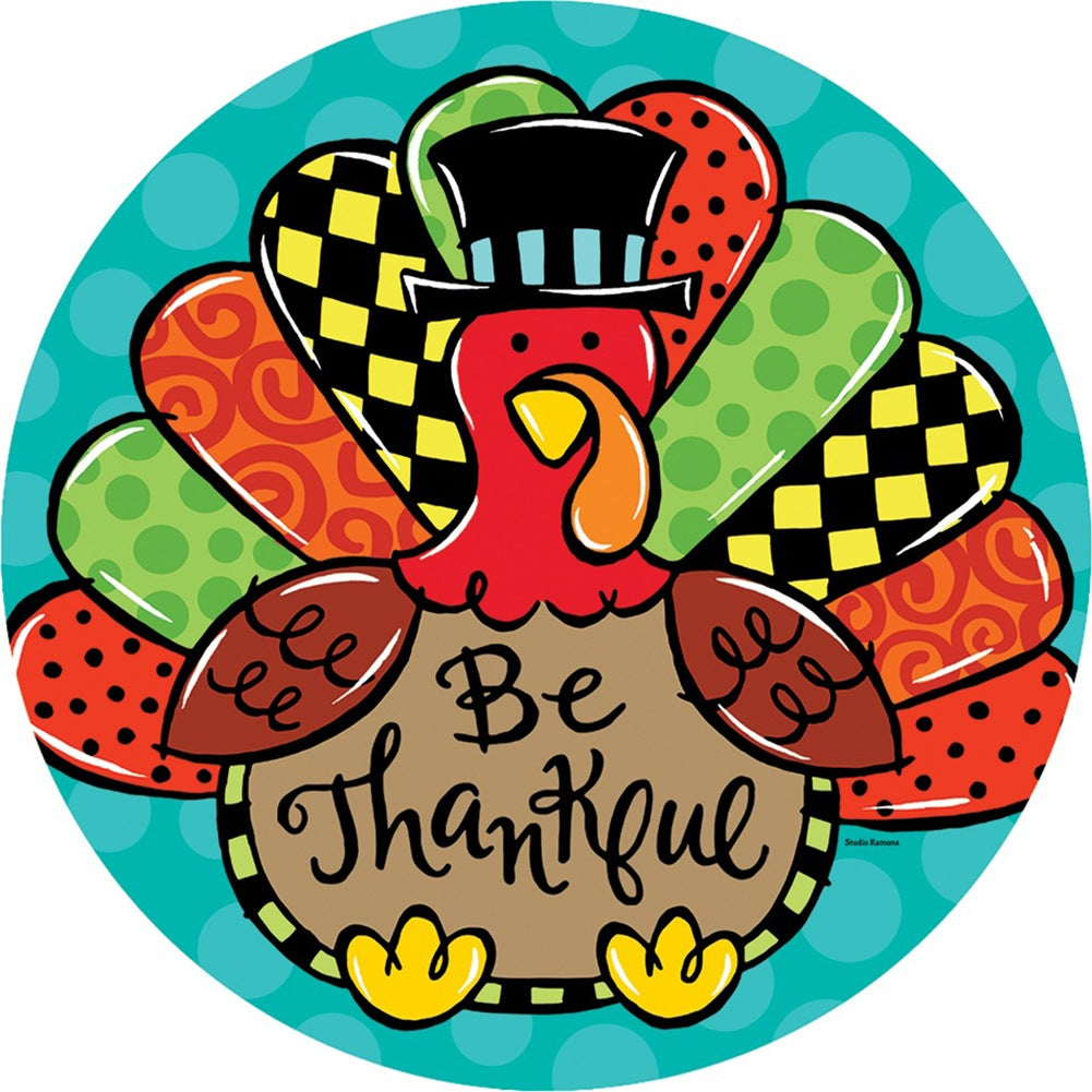 Whimsy Turkey Accent Magnet