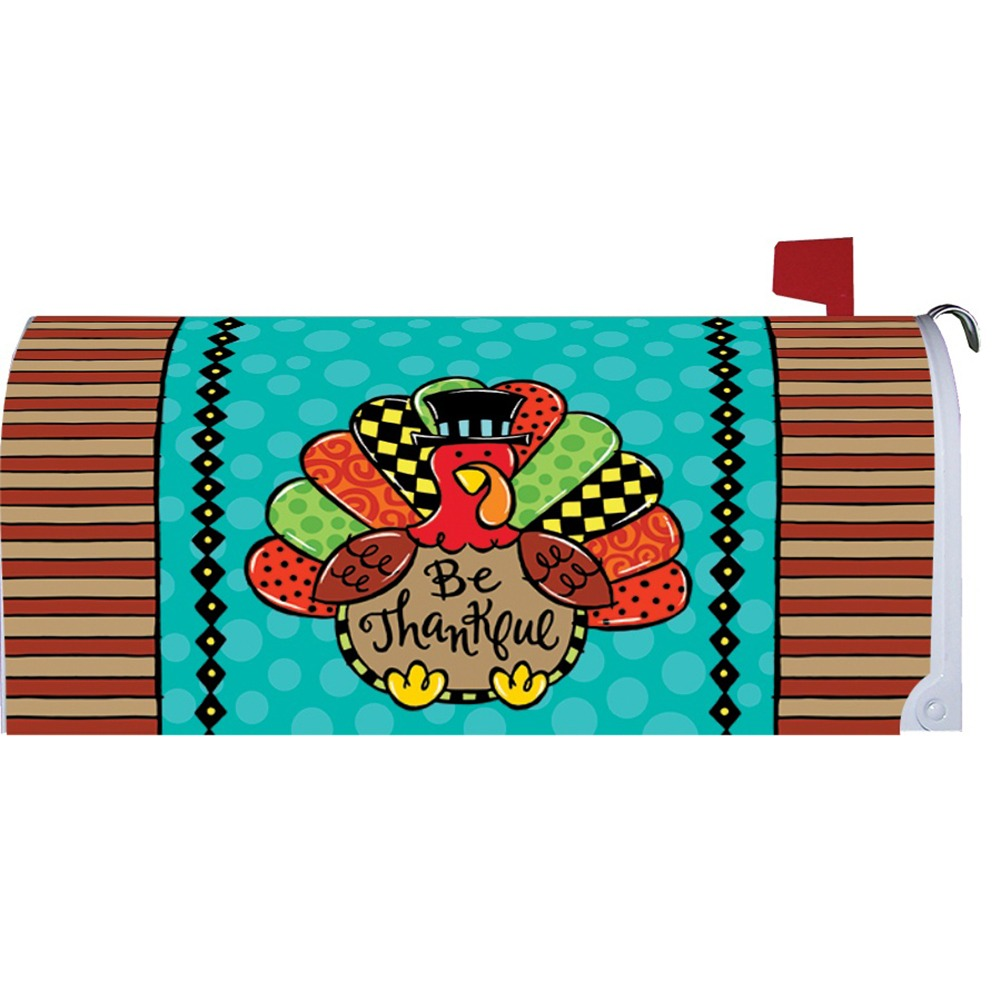 Whimsy Turkey Mailbox Cover