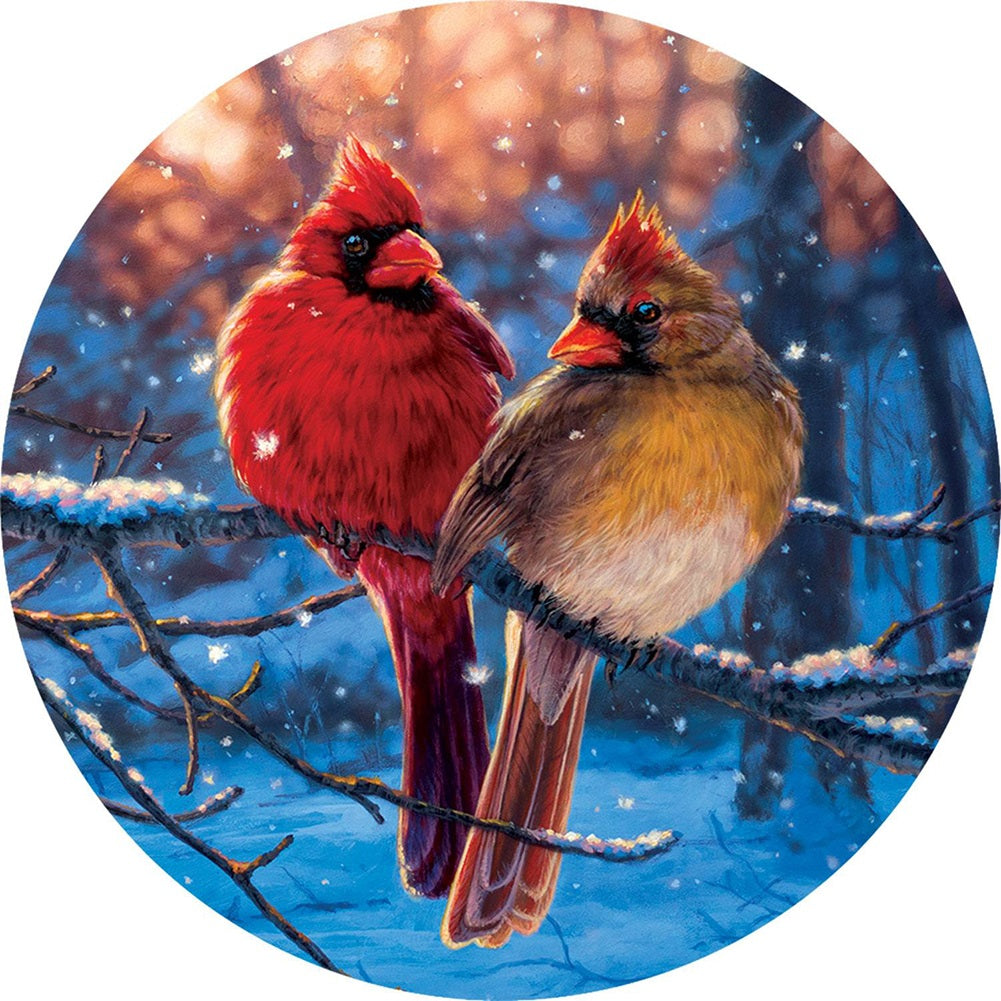Winter Reds Accent Magnet