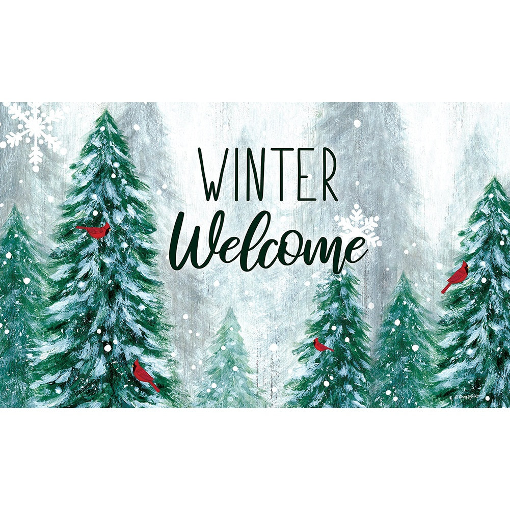 Winter Wonderland Welcome Doormat