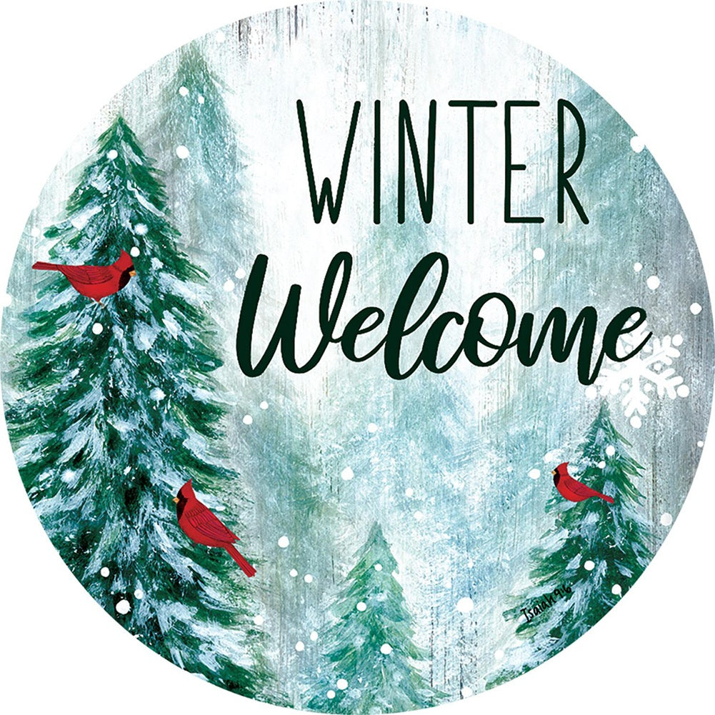 Winter Wonderland Welcome Accent Magnet