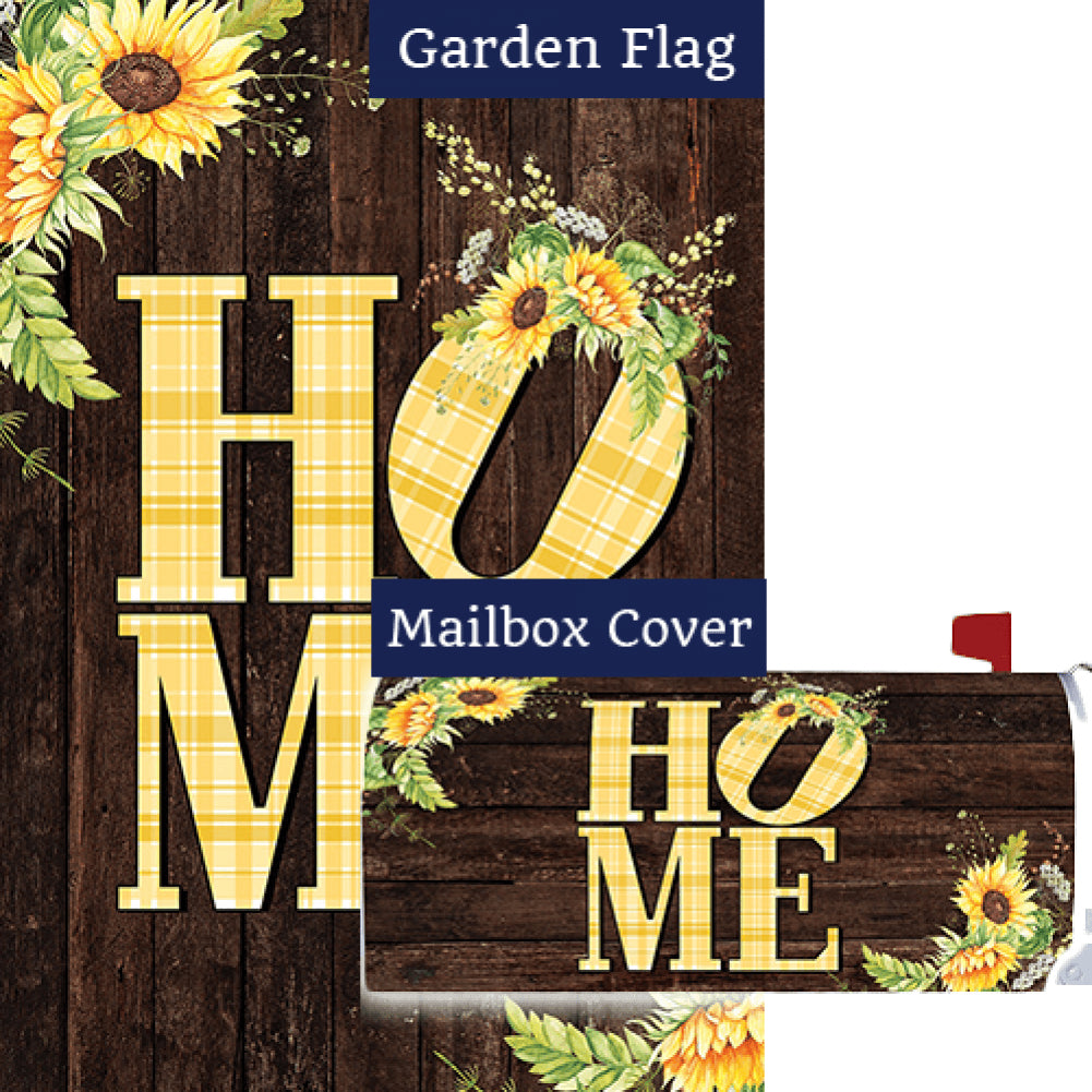 Sunflower Home Double Sided Flag Mailwrap Set (2 Pieces)