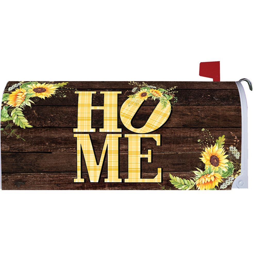 Sunflower Home Mailbox Cover