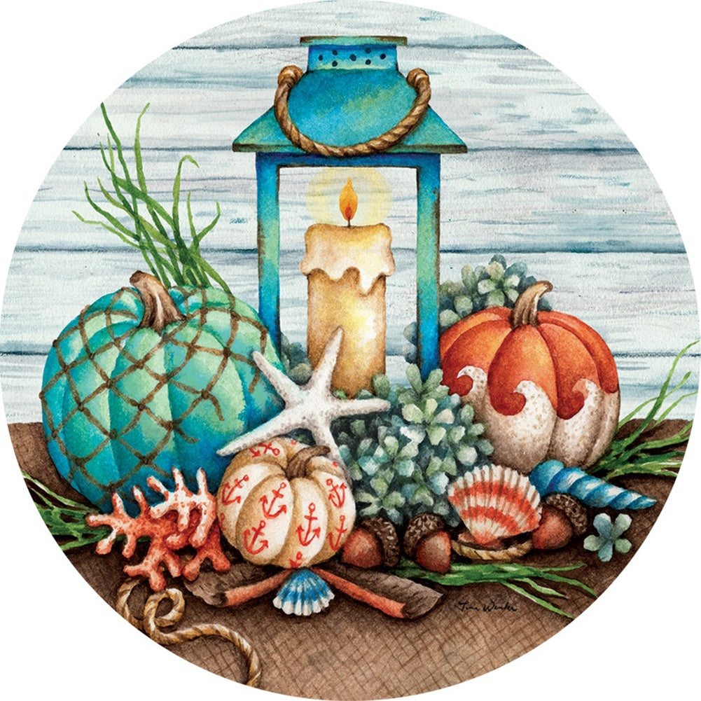 Coastal Fall Accent Magnet