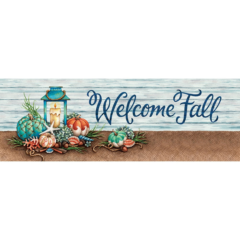 Coastal Fall Signature Sign