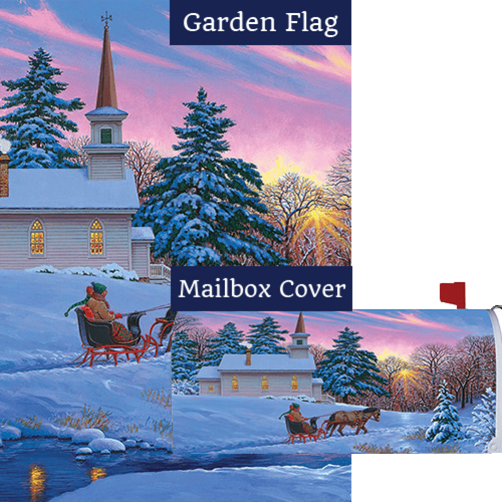 Sleigh Ride Flag Mailwrap Set (2 Pieces)